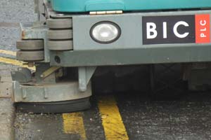 grounds cleaning car park and curbs