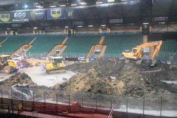 arena cleaning