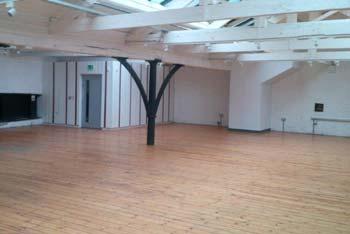 industrial wooden floor treatment